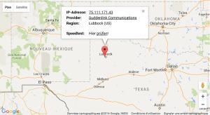 Geo adresse IP