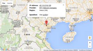 Geo adresse IP bis