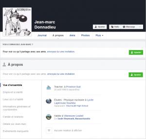 Donnadieu Facebook
