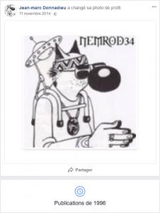 Ouverture Facebook Donnadieu